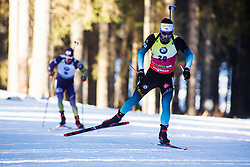 Martin Fourcade (FRA) during the Men 20 km Individual Competition at day 1 of IBU Biathlon World Cup 2019/20 Pokljuka, on January 23, 2020 in Rudno polje, Pokljuka, Pokljuka, Slovenia. Photo by Peter Podobnik / Sportida