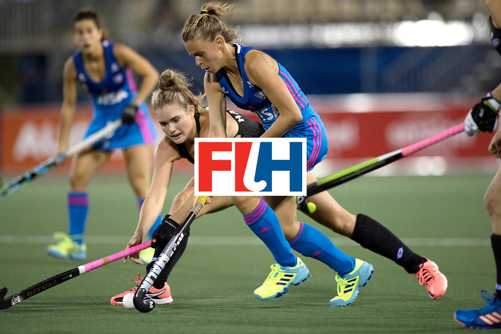 AUCKLAND - Sentinel Hockey World League final women<br /> Match id: 10304<br /> 14 ARG vNZL 1-2<br /> Foto: Victoria Sauze and Samantha Harrison.<br /> WORLDSPORTPICS COPYRIGHT FRANK UIJLENBROEK