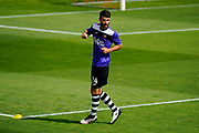 Alex Byrne (24) of Exeter City warming up before the EFL Sky Bet League 2 match between Exeter City and Lincoln City at St James' Park, Exeter, England on 19 August 2017. Photo by Graham Hunt.