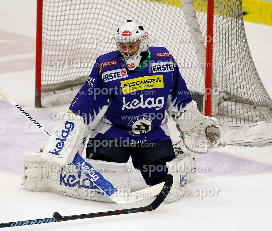 21.11. 2014, Stadthalle, Villach, AUT, EBEL, EC VSV vs EC Red Bull Salzburg, 19. Runde, im Bild Jean Philippe Lamoureux (VSV) // during the Erste Bank Icehockey League 19th round match between EC VSV vs EC Red Bull Salzburg at the City Hall in Villach, Austria on 2014/11/21, EXPA Pictures © 2014, PhotoCredit: EXPA/ Oskar Hoeher
