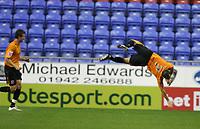 Photo: Sportsbeat Images.<br />Wigan Athletic v Hull City. Carling Cup. 28/08/2007.<br />Hull City's Stuart Elliott backflips in celebration