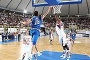 DESCRIZIONE : Cagliari Eurobasket Men 2009 Additional Qualifying Round Italia Francia<br /> GIOCATORE : Angelo Gigli<br /> SQUADRA : Italy Italia Nazionale Maschile<br /> EVENTO : Eurobasket Men 2009 Additional Qualifying Round <br /> GARA : Italia Francia Italy France<br /> DATA : 05/08/2009 <br /> CATEGORIA : Stoppata<br /> SPORT : Pallacanestro <br /> AUTORE : Agenzia Ciamillo-Castoria/C.De Massis