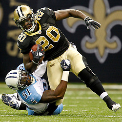 09-01-2011 NFL Preseason - Tennessee Titans at New Orleans Saints