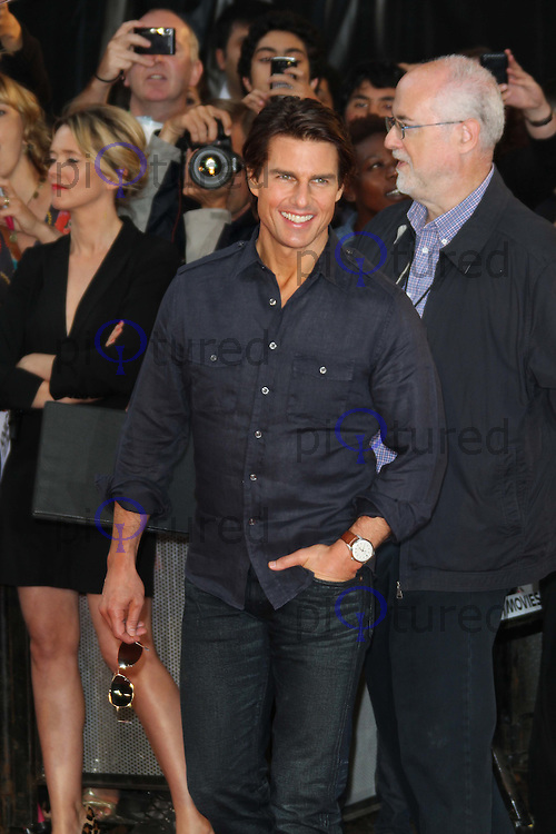 Tom Cruise Knight and Day UK Premiere, held at the Odeon Cinema, Leicester Square, London, UK, 22 July 2010: For piQtured Sales contact: Ian@Piqtured.com +44(0)791 626 2580 (Picture by Richard Goldschmidt/Piqtured)