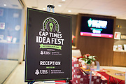 Cap Times Idea Fest 2018 at the Pyle Center in Madison, Wisconsin, Saturday, Sept. 29, 2018.