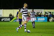 Forest Green Rovers Charlie Clough(5) runs forward during the Vanarama National League match between Solihull Moors and Forest Green Rovers at the Automated Technology Group Stadium, Solihull, United Kingdom on 25 October 2016. Photo by Shane Healey.