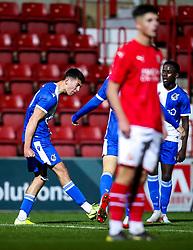 Ollie Hulbert of Bristol Rovers celebrates scoring a goal to make it 1-1 - Mandatory by-line: Robbie Stephenson/JMP - 29/10/2019 - FOOTBALL - County Ground - Swindon, England - Swindon Town v Bristol Rovers - FA Youth Cup Round One