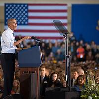 President Obama's remarks, Boise State University, 21 January 2015, Photo Patrick Sweeney