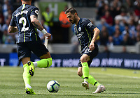 BRIGHTON, ENGLAND - MAY 12:  Bernardo Silva (20) of Manchester City during the Premier League match between Brighton & Hove Albion and Manchester City at American Express Community Stadium on May 12, 2019 in Brighton, United Kingdom. (MB Media)
