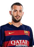 Spain - Liga BBVA 2015-2016 / <br /> ( Fc Barcelona ) - <br /> Aleix Vidal