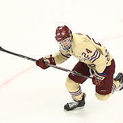 Bill Arnold #24 of the Boston College Eagles skates on the ice during The Beanpot Championship Game at TD Garden on February 10, 2014 in Boston, Massachusetts. (Photo by Elan Kawesch)