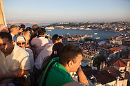Turkey. Elevated view on Istambul from Galata tower