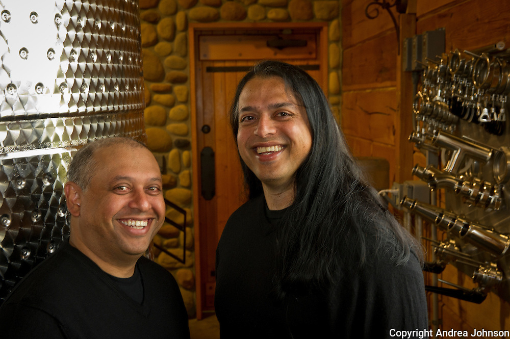 Billo and Pinto Naravane, owners Rasa Winery, Walla Walla, Washington