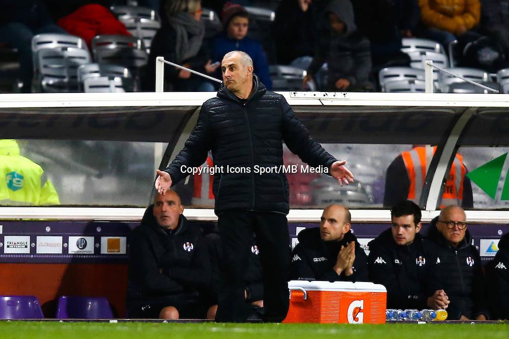 Alain Casanova - 05.12.2014 - Toulouse / Monaco - 17eme journee de Ligue 1 -<br />Photo : Manuel Blondeau / Icon Sport
