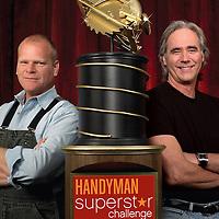 Handyman Challenge Mike Holmes, Jim Carrick