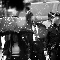 NORRISTOWN, PA - APRIL 2: Bill Cosby arrives at the Montgomery County Courthouse before jury selection in his sexual assault retrial April 2, 2018 in Norristown, Pennsylvania. A former Temple University employee alleges that the entertainer drugged and molested her in 2004 at his home in suburban Philadelphia. 60 women have accused the 80 year old entertainer of sexual assault. (Photo by Mark Makela/Getty Images)