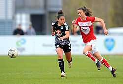 Rosella Ayane of Bristol City challenges Mayumi Pacheco of Reading Women- Mandatory by-line: Nizaam Jones/JMP- 31/03/2019 - FOOTBALL - Stoke Gifford Stadium - Bristol, England - Bristol City Women v Reading Women - FA Women's Super League 1