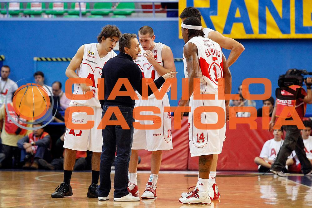 DESCRIZIONE : Milano Lega A1 2008-09 Armani Jeans Milano Premiata Montegranaro<br /> GIOCATORE : Piero Bucchi<br /> SQUADRA : Armani Jeans Milano<br /> EVENTO : Campionato Lega A1 2008-2009<br /> GARA : Armani Jeans Milano Premiata Montegranaro<br /> DATA : 02/11/2008<br /> CATEGORIA : Ritratto<br /> SPORT : Pallacanestro<br /> AUTORE : Agenzia Ciamillo-Castoria/G.Cottini