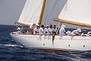 Mariella at the Antigua Classic Yacht Regatta