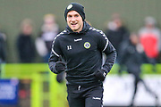 Forest Green Rovers George Williams(11) during the EFL Sky Bet League 2 match between Forest Green Rovers and Mansfield Town at the New Lawn, Forest Green, United Kingdom on 15 December 2018.