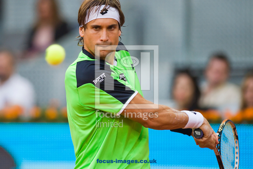 Picture by Marcos Calvo Mesa/Focus Images Ltd +34 600474871.08/05/2013.David Ferrer pictured during the Madrid Open Day Five at Manzanares Park Tennis Centre, Madrid.