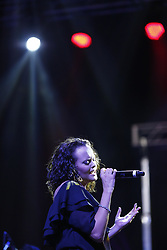 ANAHEIM, CA - MAY 12: Shaila Durcal performs on stage during her concert at the M3 Live in Anaheim, California on May 12, 2017.  Byline, credit, TV usage, web usage or linkback must read SILVEXPHOTO.COM. Failure to byline correctly will incur double the agreed fee. Tel: +1 714 504 6870.