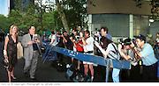 Harvey Weinstein at the Talk magazine launch. New York. 2 September 1999.<br /> © Copyright Photograph by Dafydd Jones<br /> 66 Stockwell Park Rd. London SW9 0DA<br /> Tel 0171 733 0108