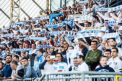 Fans of HNK Rijeka during football match between HNK Rijeka and GNK Dinamo Zagreb in Round #27 of 1st HNL League 2016/17, on November 5, 2016 in Rujevica stadium, Rijeka, Croatia. Photo by Grega Valancic / Sportida