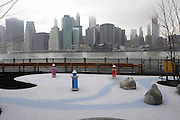Atmosphere at The Brooklyn Bridge Park Ribbon-Cutting Ceremony held at Brooklyn Bridge Park at Pier 1 on March 22, 2010 in Brooklyn, NY.