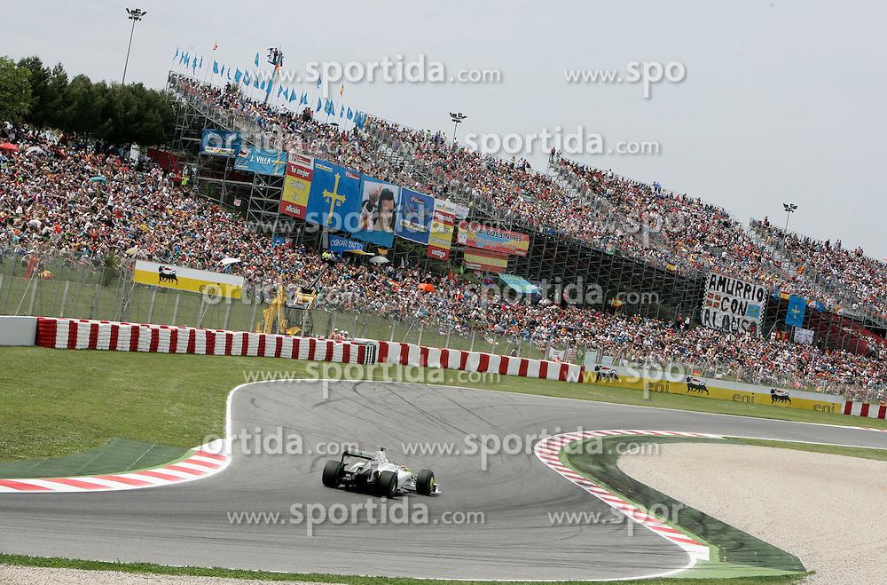 FORMEL 1: GP von Spanien, Barcelona, 09.05.2009<br /> Rennstrecke, Tribuene, Illustration<br /> &Atilde;'&Acirc;&copy; pixathlon