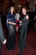 LEONA WONG; CATHERINE BROWN; , Man Booker prize 2011. Guildhall. London. 18 October 2011. <br /> <br />  , -DO NOT ARCHIVE-© Copyright Photograph by Dafydd Jones. 248 Clapham Rd. London SW9 0PZ. Tel 0207 820 0771. www.dafjones.com.