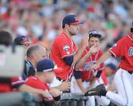 Ole Miss vs. Virginia in the College World Series in Omaha, Neb. on Sunday, June 15, 2014. Virginia won 2-1.