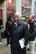 22 May 2011- New York, NY - Former New York City Mayor David N. Dinkins arrives  at the Woody King Jr.'s New Federal Theatre 40th Reunion Gala Benefit held at   the Edison Ballroom on May 22, 2011 in New York City. Photo Credit: Terrence Jennings