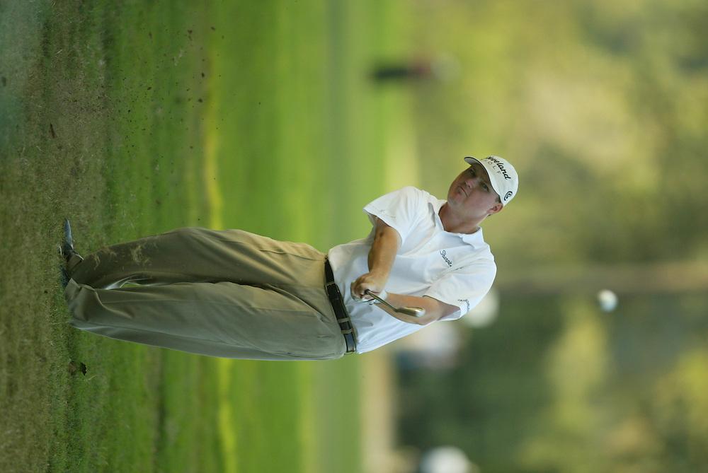 Chad Campbell.2003 Tour Championship.Final Round.Champions Golf Club.Houston, TX.November 9, 2003..photograph by Darren Carroll