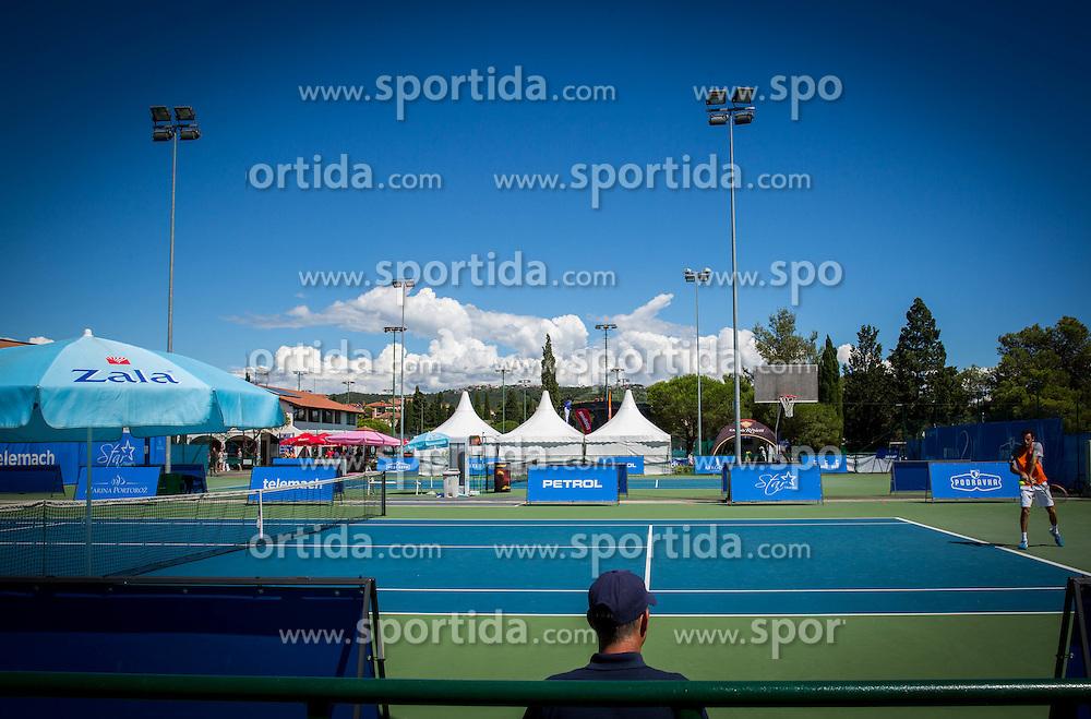 Day 3 of ATP Challenger Tilia Slovenia Open 2014 on July 9, 2014 in  Tennis stadium SRC Marina, Portoroz / Portorose, Slovenia. Photo by Vid Ponikvar / Sportida
