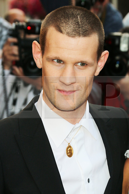 Matt Smith, GQ Men of the Year Awards, Royal Opera House, London UK, 03 September 2013, (Photo by Richard Goldschmidt)