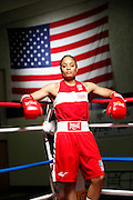 6/24/11 2:32:21 PM -- Colorado Springs, CO. -- A portrait of U.S. Olympic lightweight boxer Queen Underwood, 27, of Seattle, Wash. who will be competing for her fifth title. She began boxing in 2003 and was the 2009 Continental Champion and the 2010 USA Boxing National Champion. She is considered a likely favorite to medal at the 2012 Summer Olympics in London as women's boxing makes its debut as an Olympic sport. -- ...Photo by Marc Piscotty, Freelance.