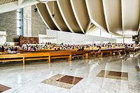 Interior do Santuário Santa Paulina. Nova Trento, Santa Catarina, Brasil. / Interior of Santa Paulina Sanctuary. Nova Trento, Santa Catarina, Brazil.