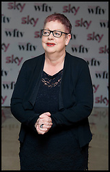 JO BRAND arrives for The Sky Woman In Film and Television Awards 2011, Friday December 2, 2011, At the Hilton Hotel, London. Photo By i-Images