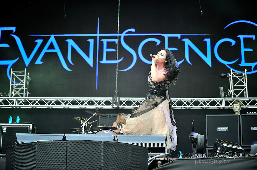 "Evanescence is an American rock band founded in Little Rock, Arkansas in 1995 by singer/pianist Amy Lee and guitarist Ben Moody. After recording private albums, the band released their first full-length album, Fallen, on Wind-up Records in 2003. Fallen sold more than 17 million copies worldwide[3] and helped the band win two Grammy Awards and seven nominations, as well as scoring No. 6 in CBS's ""Top Bestselling Albums of the Last 10 Years"" (2008). A year later, Evanescence released their first live album, Anywhere but Home, which sold more than one million copies worldwide. In 2006, the band released their second studio album, The Open Door, which sold more than five million copies."