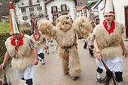 Ancient carnival in Ituren