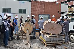 Central Connecticut State University.  New Academic Building.  Project No: BI-RC-324.CCSU Construction Management Class Field Trip | 18 April 2012