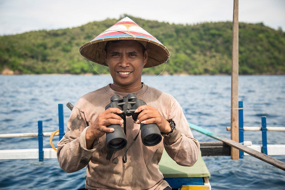 Yus Sawali is a fisherman and group leader of the coastal managment group in Motto village.  The fishermen and villagers have benefited from new boats, fishing equiptment, marine protected areas and ecotourism projects supported by the Indonesia Government and IFAD through the Coastal Community Development Project.