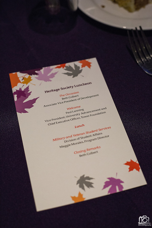 The San Jose State University Heritage Society hosts their annual Fall Event at Flames Eatery & Bar in downtown San Jose, California, on October 30, 2015. (Stan Olszewski/SOSKIphoto)