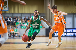 3# Ryan Jamar Boatright of KK Cedevita Olimpija during the friendly match between KK Cedevita Olimpija Ljubljana and Ratiopharm Ulm on 11.9.2019 in Hala Tivoli, Ljubljana, Slovenia. Photo by Urban Meglič / Sportida