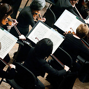 """January 18, 2012 - Manhattan, NY : The New York Philharmonic performs Prokofiev's """"Symphony No. 5 in B-flat major, Op. 100 (1944)"""" at Avery Fisher Hall on Wednesday evening. CREDIT : Karsten Moran for The New York Times"""