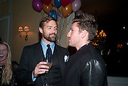 PATRICK GRANT; HENRY HOLLAND; , Kate Reardon and Michael Roberts host a party to celebrate the launch of Vanity Fair on Couture. The Ballroom, Moet Hennessy, 13 Grosvenor Crescent. London. 27 October 2010. -DO NOT ARCHIVE-© Copyright Photograph by Dafydd Jones. 248 Clapham Rd. London SW9 0PZ. Tel 0207 820 0771. www.dafjones.com.