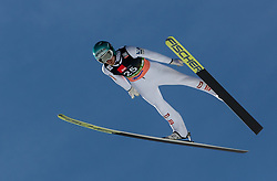 Michael Hayboeck (AUT) soaring through the air during the Ski Flying Hill Individual Competition at Day 2 of FIS Ski Jumping World Cup Final 2019, on March 22, 2019 in Planica, Slovenia. Photo by Masa Kraljic / Sportida