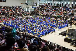 Charlotte Amalie High School 85th Annual Commencement Program at UVI Sports and Fitness Center.  14 June 2015.  © Aisha-Zakiya Boyd