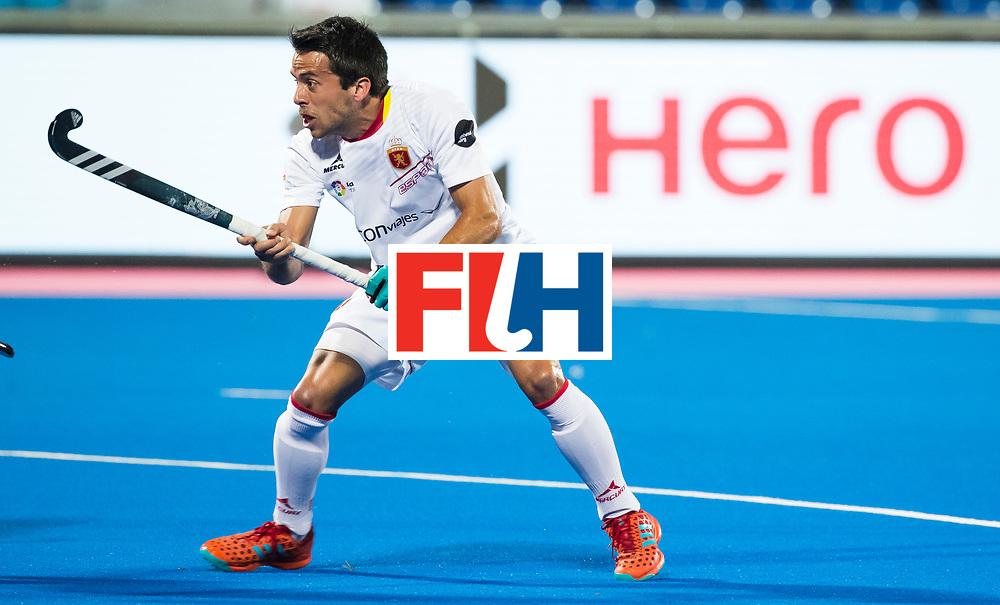 BHUBANESWAR - Marc Salles (Esp).  Hockey World League finals , wedstrijd om de 5e plaats. Belgie-Spanje.  COPYRIGHT KOEN SUYK